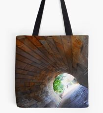 Light at the end of the tunnel. Tote Bag