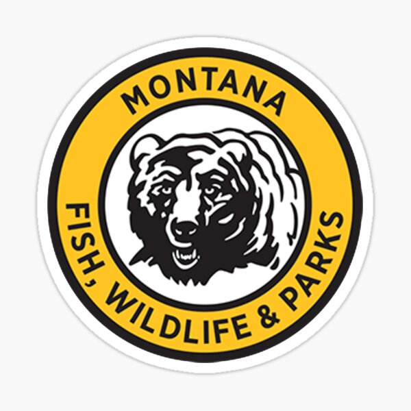 Montana Fish, Wildlife & Parks Sticker