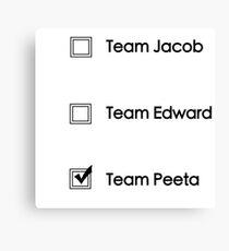 Team Peeta!  Canvas Print