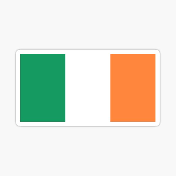 Flag of Ireland / Éire / Irish National Country Flag Sticker