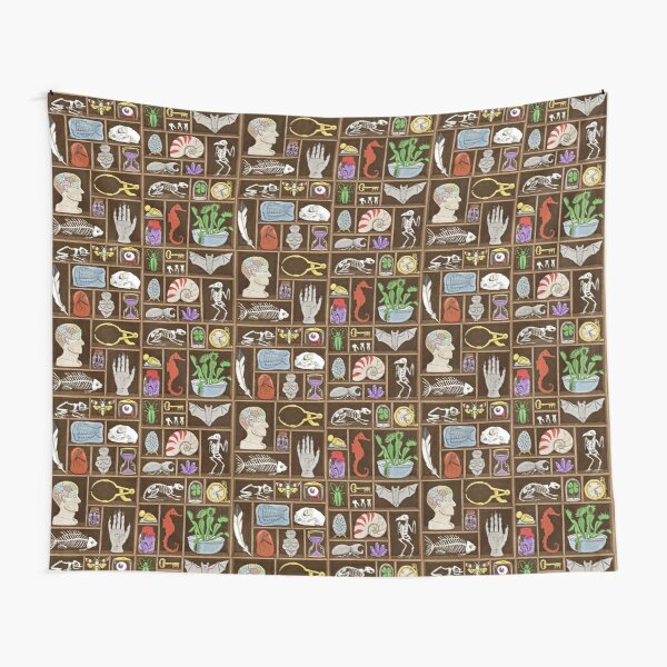 Cabinet of Curiosities Tapestry