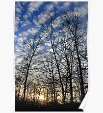 Evening Sky 0095 Poster
