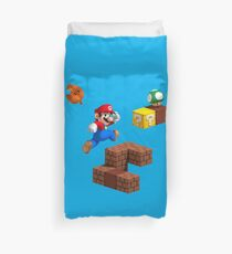 Mario Bros Duvet Cover