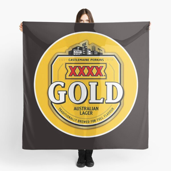 XXXX GOLD beer Scarf