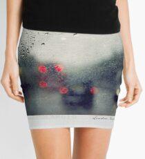 Rain Polaroïd Mini Skirt