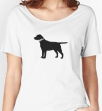 Black Lab Preppy Silhouette Women's Relaxed Fit T-Shirt