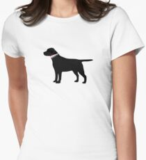 Black Lab Preppy Silhouette Womens Fitted T-Shirt