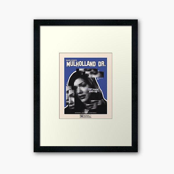 Mulholland Drive Movie Poster Framed Art Print