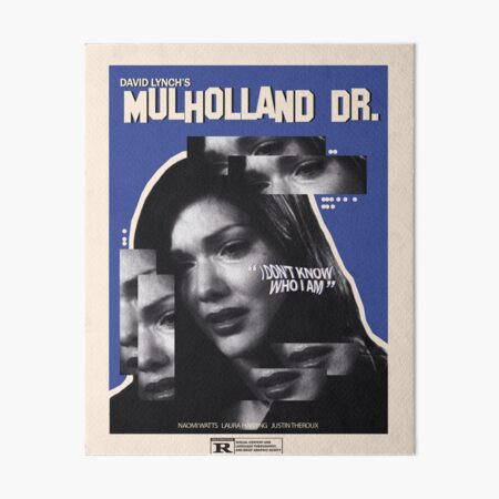 Mulholland Drive Movie Poster Art Board Print