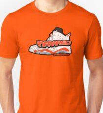 Infrared 6's White Unisex T-Shirt