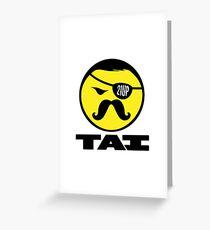 TAI Logo Poster Greeting Card
