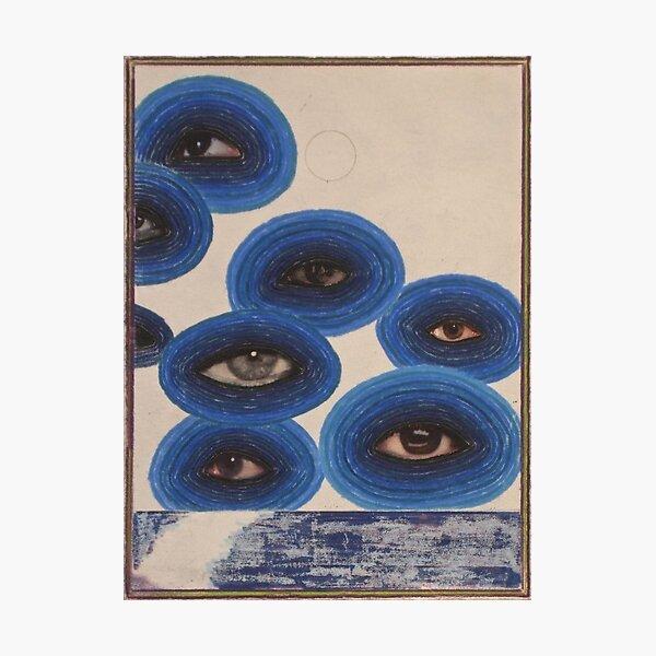 indie eye vintage panting design Photographic Print