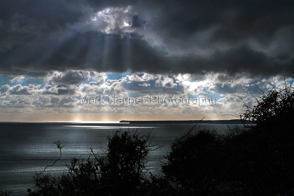 Manorbier - Light Rays by Mark Haynes Photography