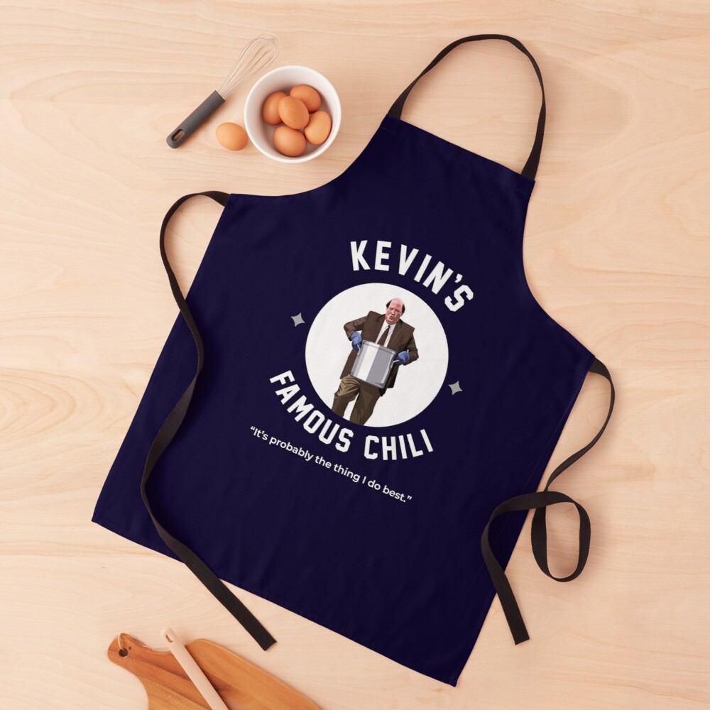 Kevin's Famous Chili - The Office Apron