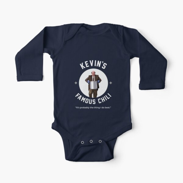 Kevin's Famous Chili - The Office Long Sleeve Baby One-Piece
