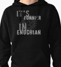 Supernatural Castiel Quote T-Shirt Pullover Hoodie