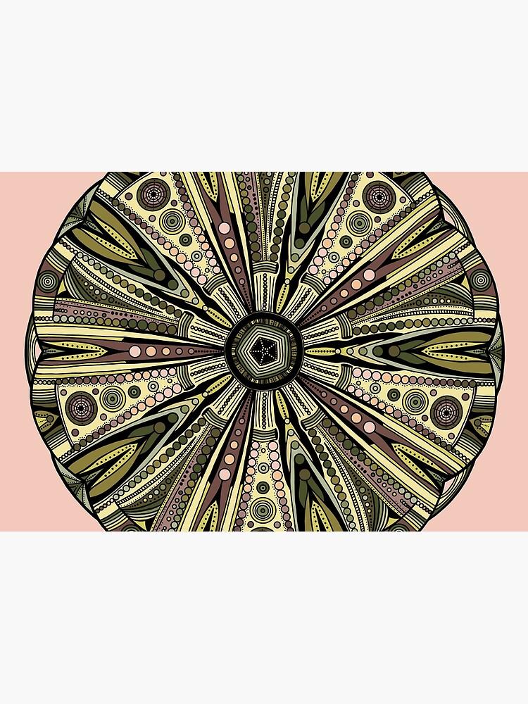 Seaside Urchin Mandala by akayeart