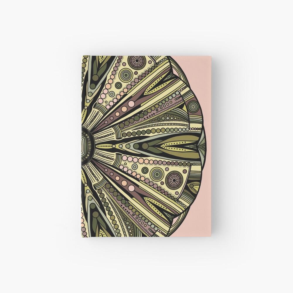 Seaside Urchin Mandala Hardcover Journal