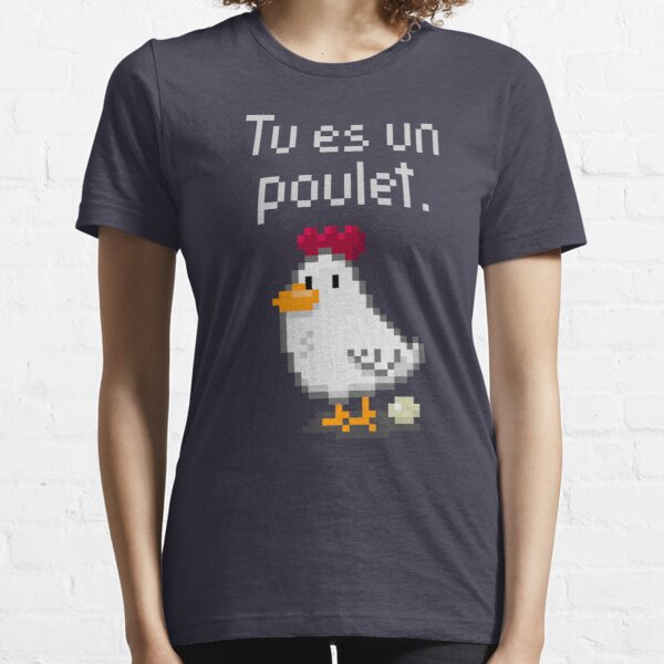 You are a chicken - light text Essential T-Shirt