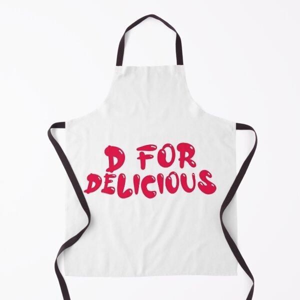 D for Delicious Apron