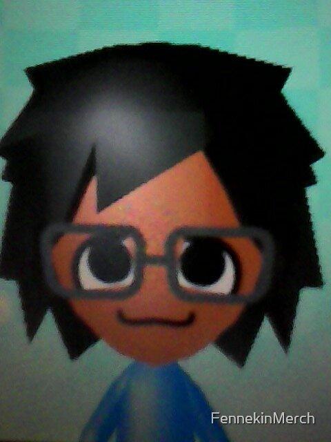 My Mii character Eriya Chan! by FennekinMerch