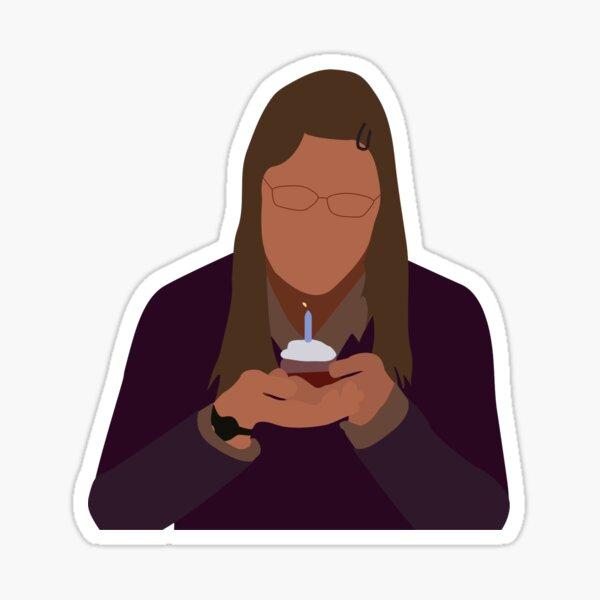 Joyeux anniversaire à moi triste - Amy Sticker