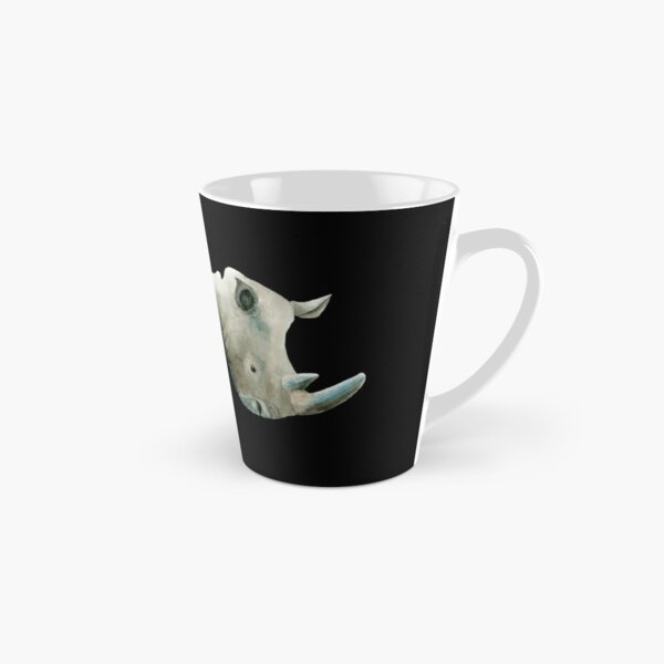 Rare White Rhino Tall Mug