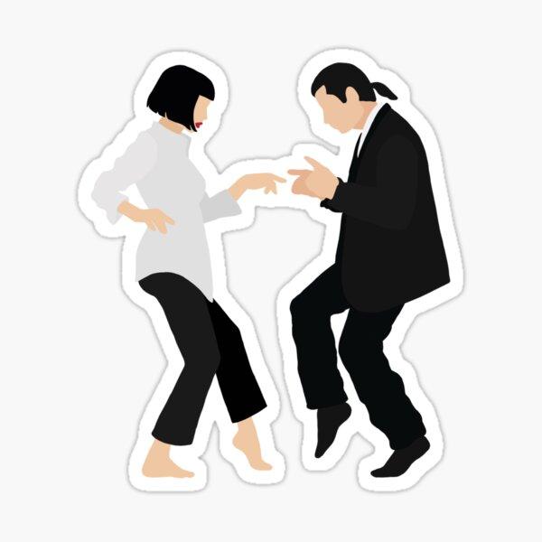 Mia + Vincent Iconic Dance Scene Sticker