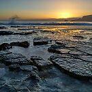 Boom!  Crashing wave HDR - Bruny Island, Tasmania, Australia by PC1134