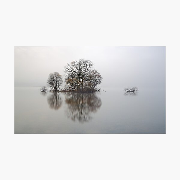 Loch Lomond Mist Photographic Print