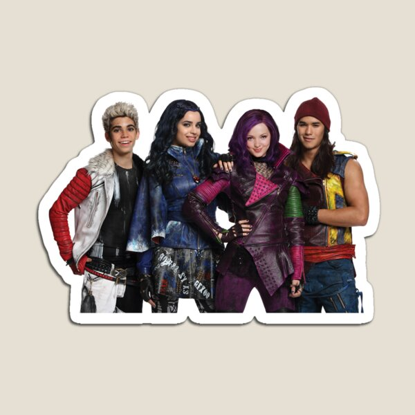Descendants cute design Magnet