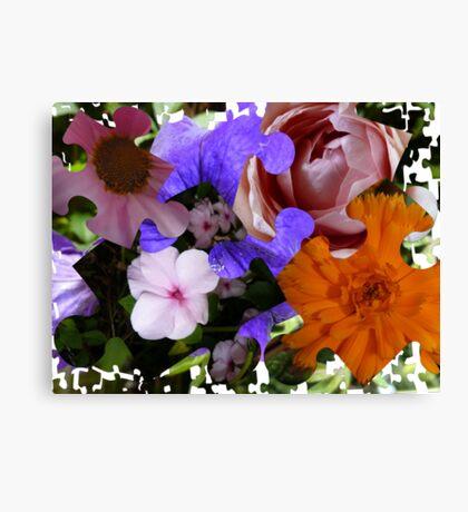 Life's a Jigsaw Puzzle Canvas Print