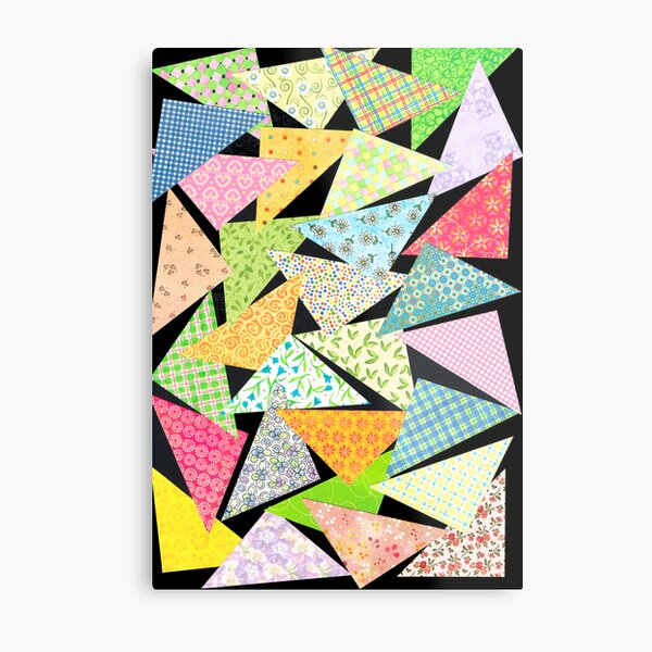 TRIANGLE ART Metal Print