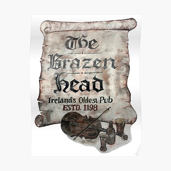 The Brazen Head pub, Dublin, Ireland Poster