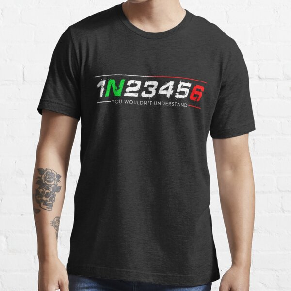 1N23456 Motorcycle Essential T-Shirt