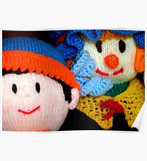 Knitted Dolls Fun 3 Poster