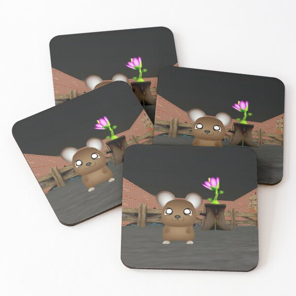 A second life pet called a snuffle Coasters (Set of 4)
