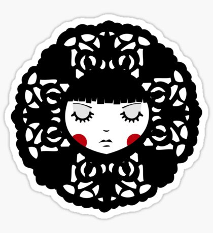 Flower Girl Sticker