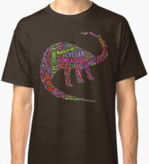 Vegan Dinosaur Classic T-Shirt