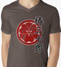 Thirty Year Old Camellias (Clothing) Men's V-Neck T-Shirt