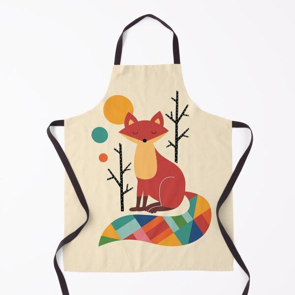 Rainbow Fox Apron