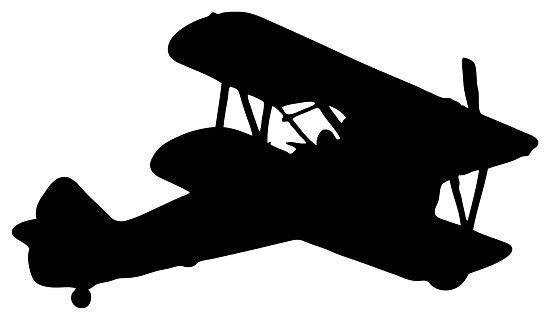 Quot Biplane Silhouette Quot Posters By Lucid Reality Redbubble