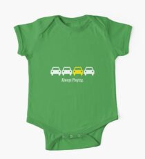 Cabin Pressure - Always Playing Yellow Car One Piece - Short Sleeve