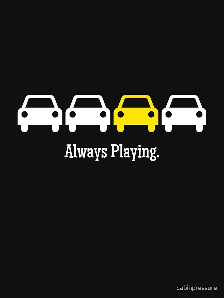 Kabinendruck - Immer gelbes Auto spielen von cabinpressure