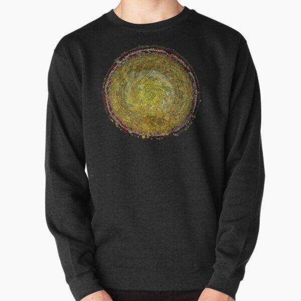 Moss spore capsule lid under the microscope Pullover Sweatshirt