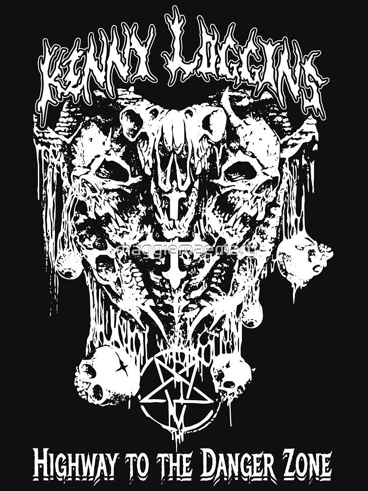 Heavy Metal Kenny Loggins by maggiemaemary