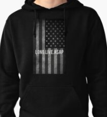 ASAP ROCKY FLAG Pullover Hoodie