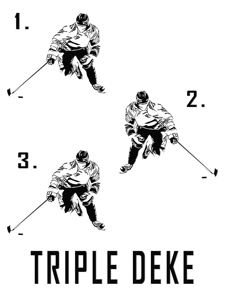 Triple Deke by MightyDucksD123