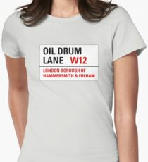 Oil Drum Lane - Steptoe & Son Women's Fitted T-Shirt
