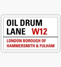 Oil Drum Lane - Steptoe & Son Sticker